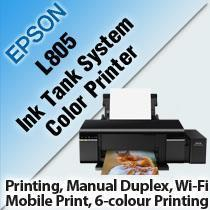 Epson L805 Ciss Photo Printer