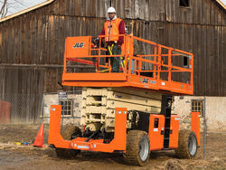 Diesel Operated Scissor Lifts for Hire