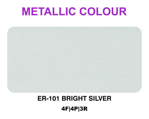 Bright Silver Metallic Color ACP