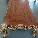 Brunell Wooden Sofa Set