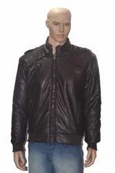 Men Leather Black Jackets
