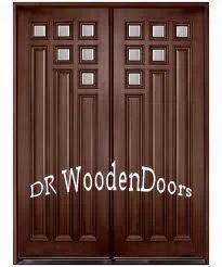 Double Wood Designer Door