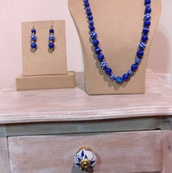 Blue Pottery Jewellery