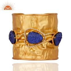 Handmade Gold Plated Fashion Cuff Bracelet
