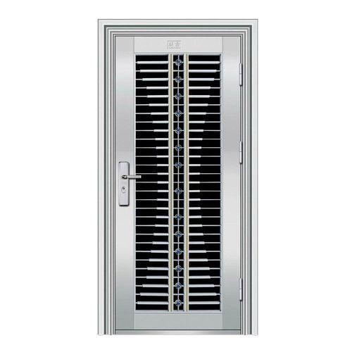 Stainless steel door stainless steel main door for Steel entrance doors