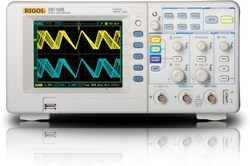 2 Channel DSO Oscilloscope with 100MHz,1GSa/s,1Mpts-DS1102E