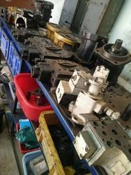 L & T 752 Hydraulic Vibration Pump Service