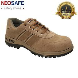 Talent Brown Safety Shoe