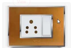 Glasso Plate Glass Electrical Switch