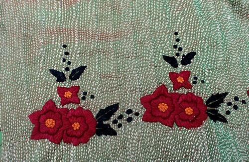 Hand Embroidery All Types Hand Embroidery Kantha And Satin Stitch