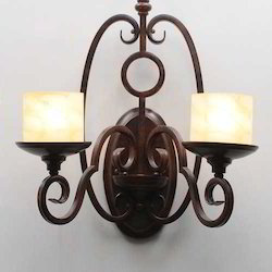 Danvelle Antique Iron Wall Lights