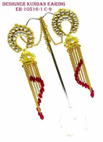 Fancy Kundan Earrings