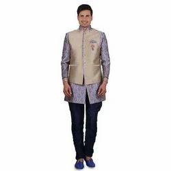 Mens Designer Indo Western Suit
