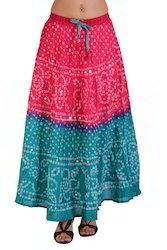 Jaiuri Bandhini Skirt