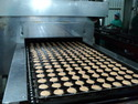 Cup Cakes Baking Tunnel Oven