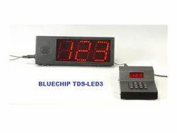 Economic LED Token Number Display System