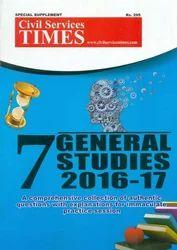 CST 7 General Studies 2016-17