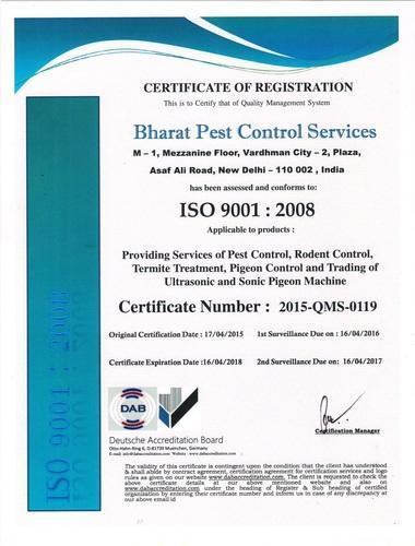 Bharat Pest Control Services - Service Provider from Asaf Ali Road ...