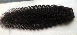 Steamed Loose Curly Virgin Weft Hair