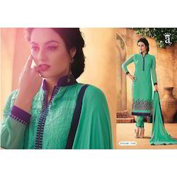 Stylish Embroidered Salwar Kameez