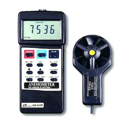 Air Flow and Air Velocity Anemometer