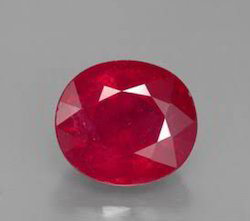 Glass Field Ruby Gemstone