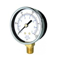 Commercial and Utility Pressure Gauge