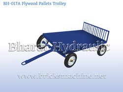 plywood pallets trolley