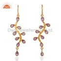 925 Silver Amethyst Earrings