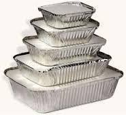 aluminium foil food containers