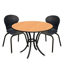 Cafeteria Chairs Table