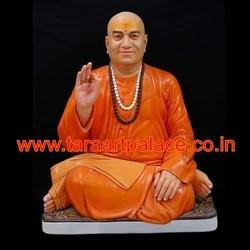 Marble Sitting Swami Sant Statue