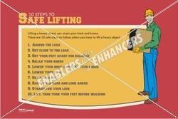 Poster on Safe Lifting