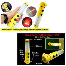 5 in 1 Car Emergency Torch Hammer
