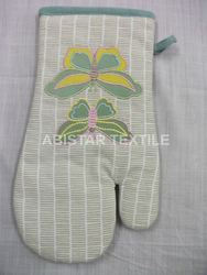 Embroidery Oven Gloves