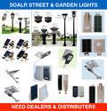 Solar Street and Garden Lights