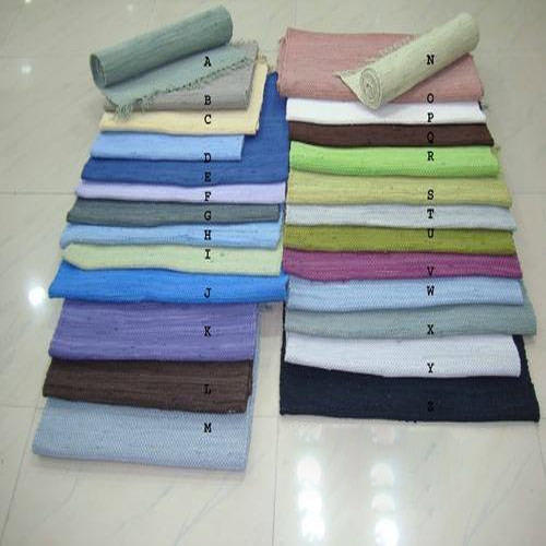 Cotton Rag Rug Mats Exporter From Noida