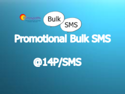 Promotional Bulk SMS(25000 SMS Package)