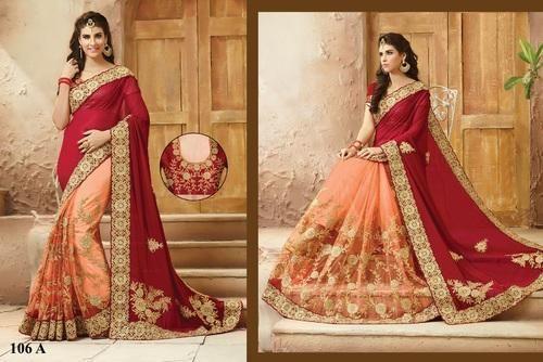 Designer Bridal Saree (Six Yard Saree)