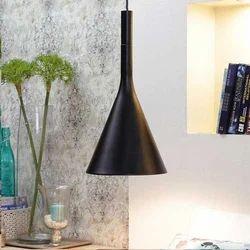 Black Canopy Pendant Lamp