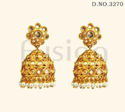 Traditional Hanging Jhumka Earrings