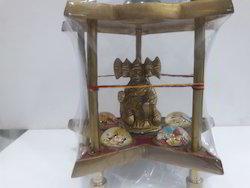 Brass Made Hanuman  Chowki Yantra