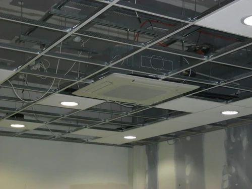False Ceiling Work Services Grid False Ceiling Work