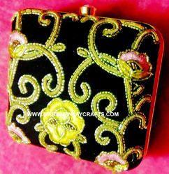 zari embroidery ladies purse