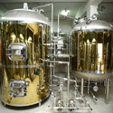 Commercial Brewing Equipment - Gold Titanium Brew House