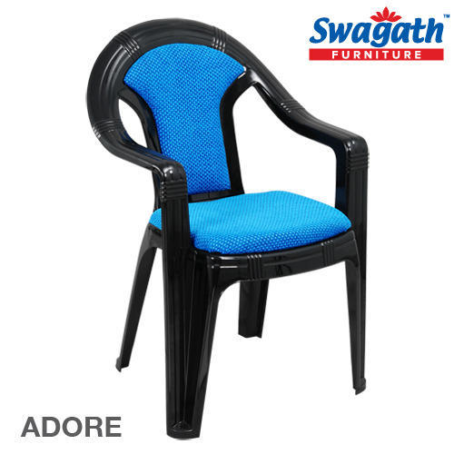 stackable plastic chairs. Cushioned Chair With Arms - Beauty Super Deluxe Maroon Exporter From Kolkata Stackable Plastic Chairs
