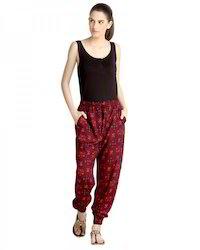 Rayon Bottom Elasticated Pants