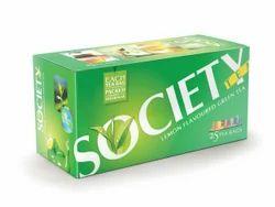 Society - Lemon Flavored Green Tea Bags