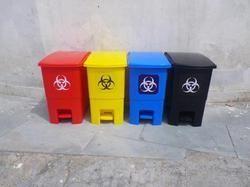 Food Pedal Dustbins - Plastic