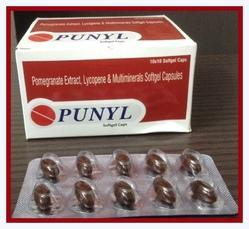 pomegranate extract lycopene multiminerals softgel capsule